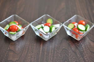 Copycat Cracker Barrel Cucumber Tomato Salad