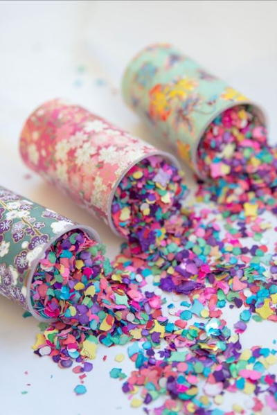 Easy DIY Confetti Poppers