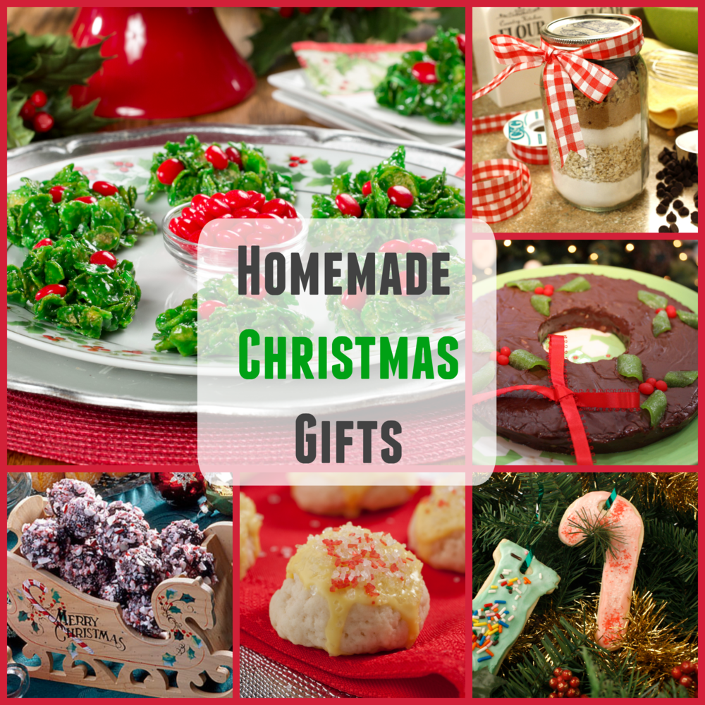 Homemade christmas gifts easy recipes and