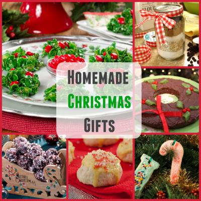 Homemade Christmas Gifts 20 Easy Christmas Recipes and