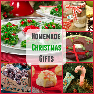 Homemade Christmas Gifts: 20 Easy