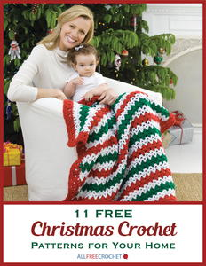 11 Free Christmas Crochet Patterns for Your Home