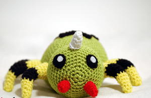 Spinarak-Inspired Amigurumi Pattern