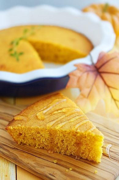 Pumpkin Honey Cornbread
