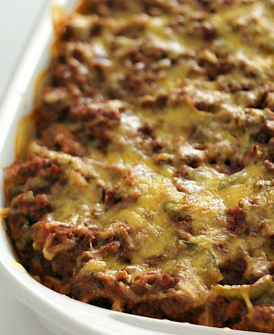 Million Dollar Ground Turkey Casserole