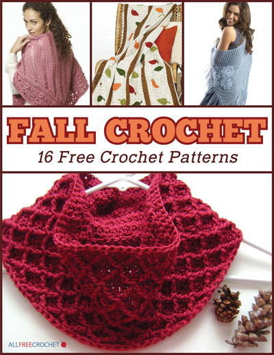 Fall Crochet 60 Free Crochet Patterns EBook AllFreeCrochet New Thread Crochet Patterns