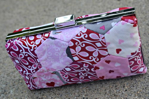 One Yard Pixie Hexie Wallet