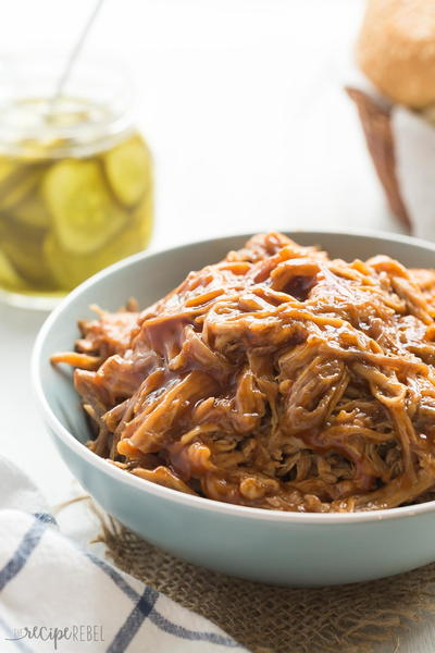 Pineapple Brown Sugar Pulled Pork