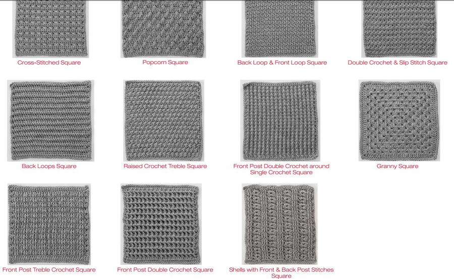 50 Shades Of Gray Crochet Throw Allfreecrochetafghanpatterns