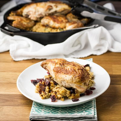 Chicken and Skillet