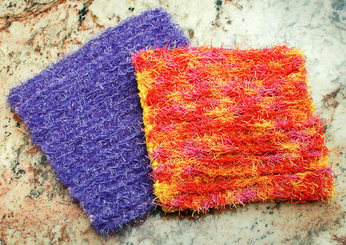 Double-Sided Scrubby Dishcloth