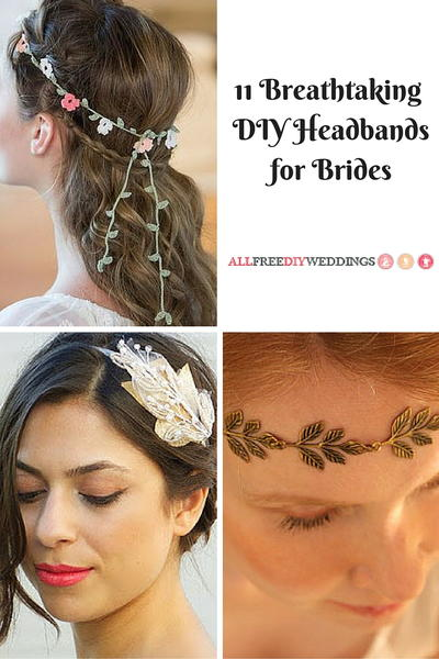 11 Breathtaking DIY Headbands for Brides