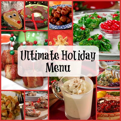 Easy Christmas Dinner.Ultimate Holiday Menu 350 Recipes For Christmas Dinner
