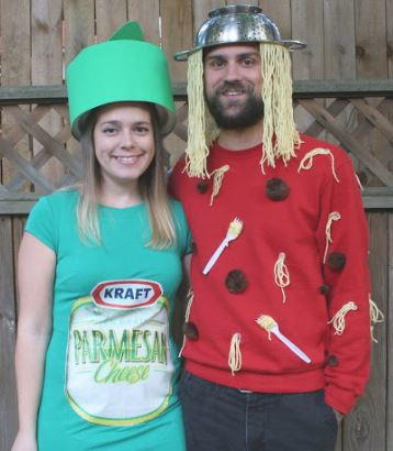 Spaghetti and Parmesan Couples Costume Idea