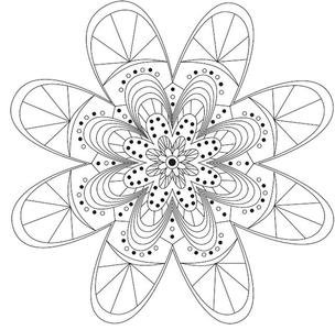 picture about Daisy Printable known as Darling Daisy Printable Mandala