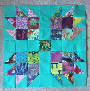 Scrappy Bear Paw Block Tutorial