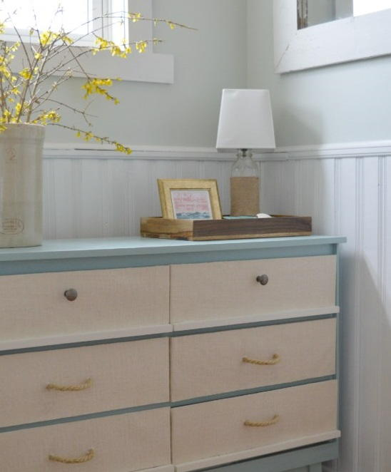 Nautical Dresser Furniture Makeover