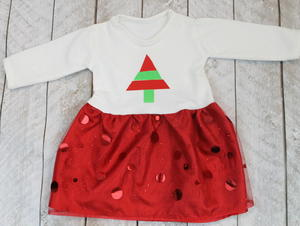 Christmas Baby Dress Design