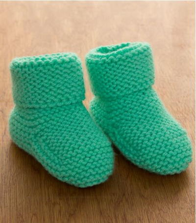 729dce839fac0 Precious Knit Baby Booties Patterns