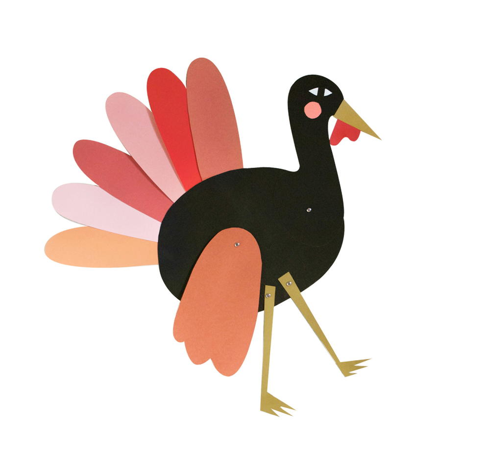 Free Printable Turkey Craft Puppet