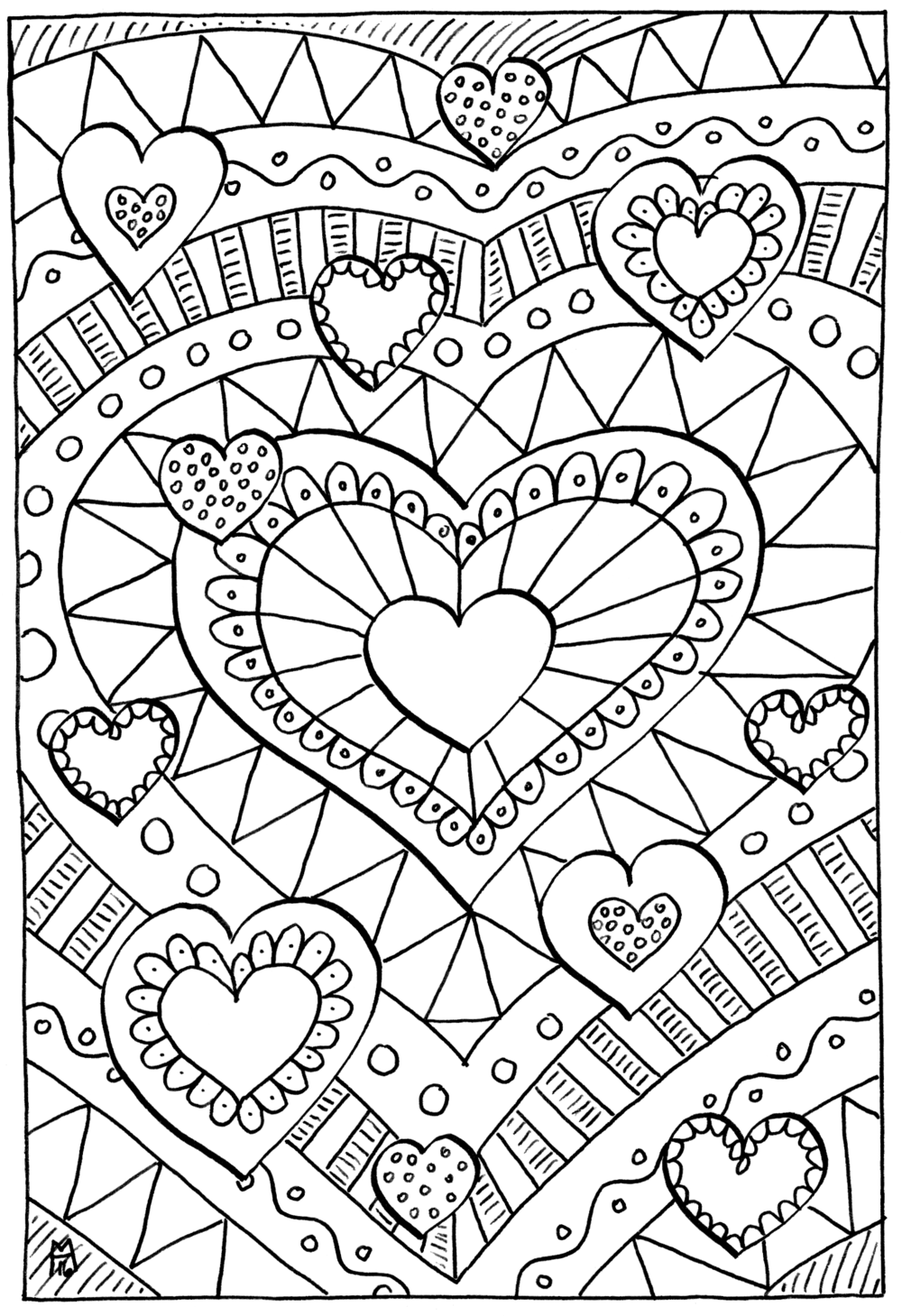 arts coloring pages - photo#21