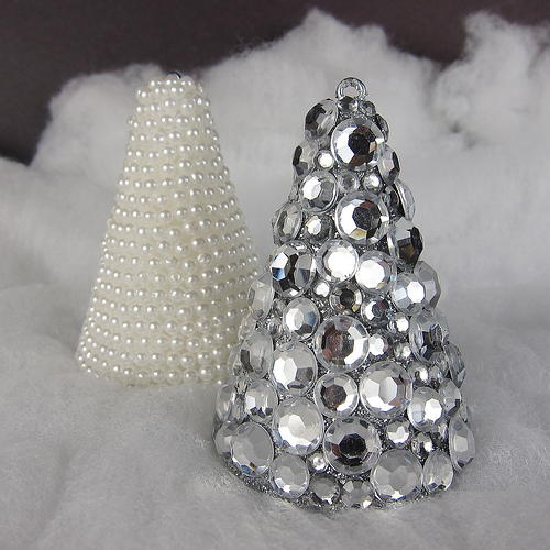 High Class Jewel Trees Homemade Christmas Decoration
