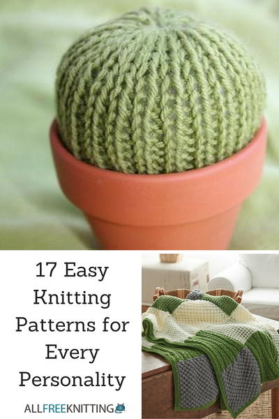 17 Easy Knitting Patterns For Every Personality Allfreeknitting Com