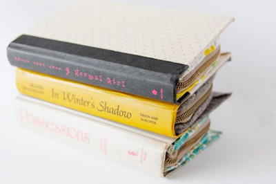 DIY Zipper Book Clutch