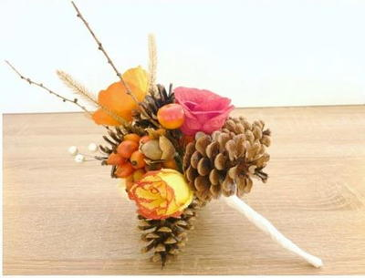 Stunning DIY Rustic Fall Bouquet
