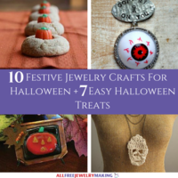 10 Festive Jewelry Crafts for Halloween + 7 Easy Halloween Treats