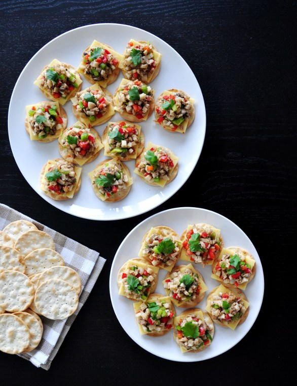 Cracker Appetizer For Parties Recipelion Com