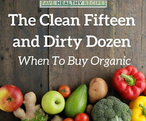 The Clean 15 and Dirty Dozen