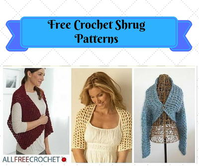 31 Free Crochet Shrug Patterns