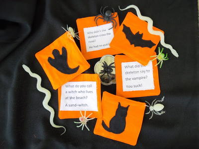 Haunted Halloween Drink Coasters