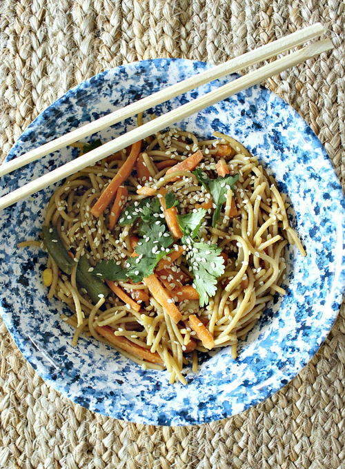 Better Than Take Out Chinese Sesame Noodles