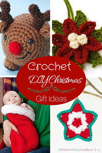 14 Crochet DIY Christmas Gift Ideas