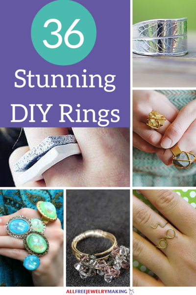 36 Stunning DIY Rings