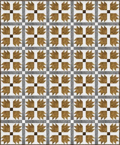 Grizzly Bear Paw Quilt