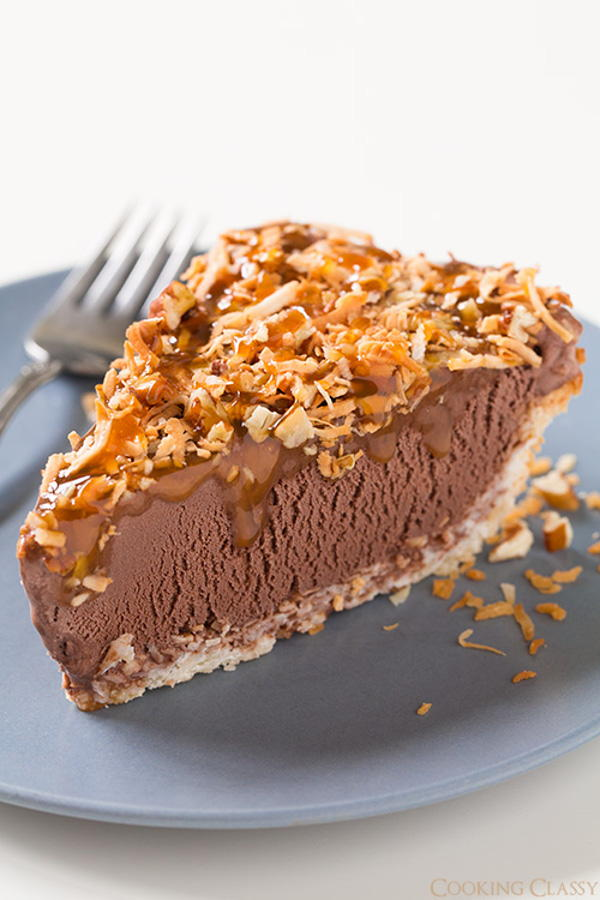 German Chocolate Ice Cream Pie | RecipeLion.com