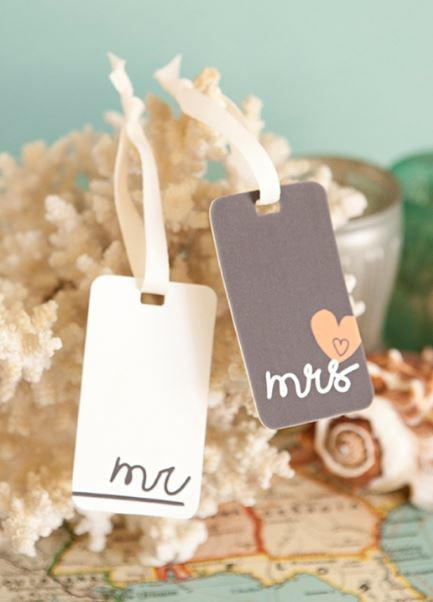 Shrinky Dink DIY Luggage Tags
