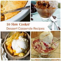10 Slow Cooker Dessert Casserole Recipes