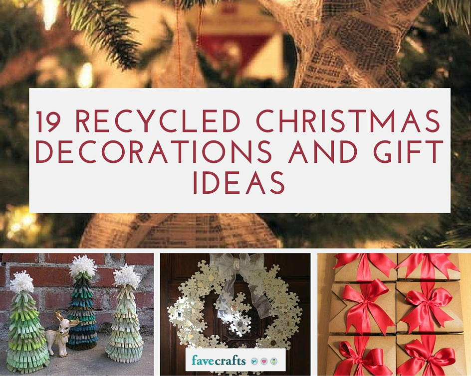 Recycled Christmas Decorations With Procedure