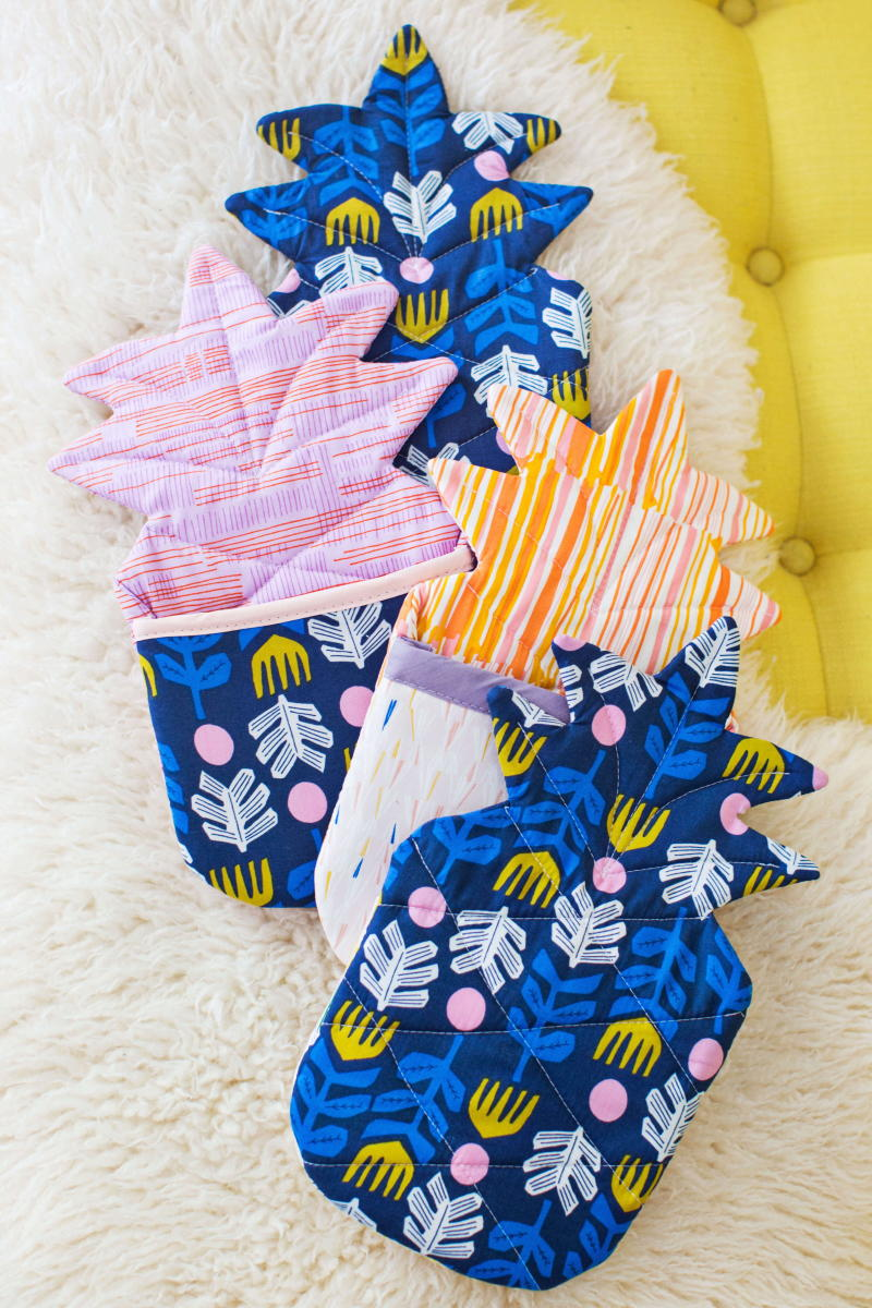 Pineapple Oven Mitt Pattern Allfreesewing Com