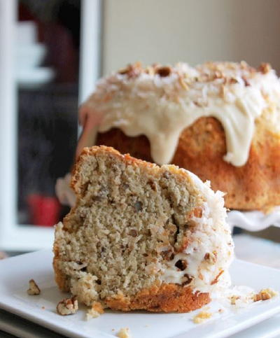 Coconut Pecan Pound Cake Recipe