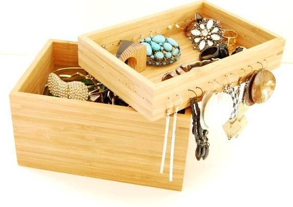 IKEA Hack DIY Jewelry Box