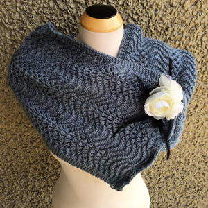 Single Skein Scarflette Pattern