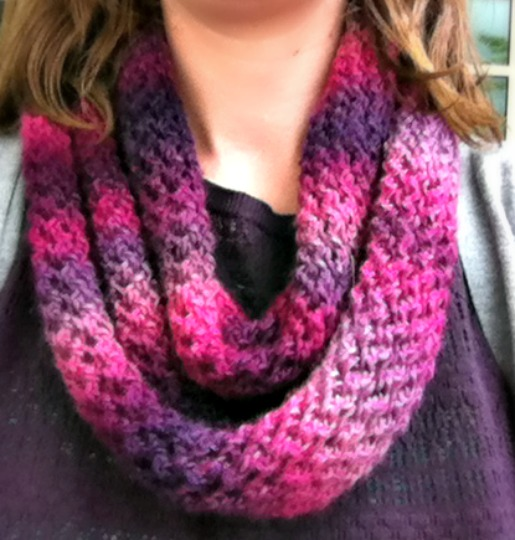 Unforgettable One Skein Knit Scarf