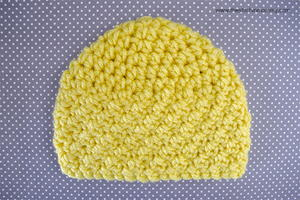 Sunshine and Hugs Preemie Beanie