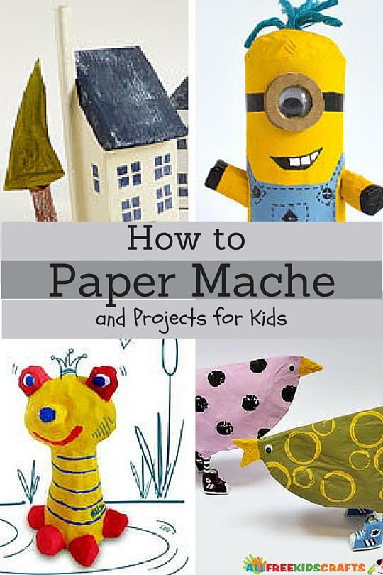 Paper Mache Craft Ideas For Kids Part - 22: How To Paper Mache