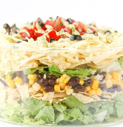7-Layer Taco Salad Recipe